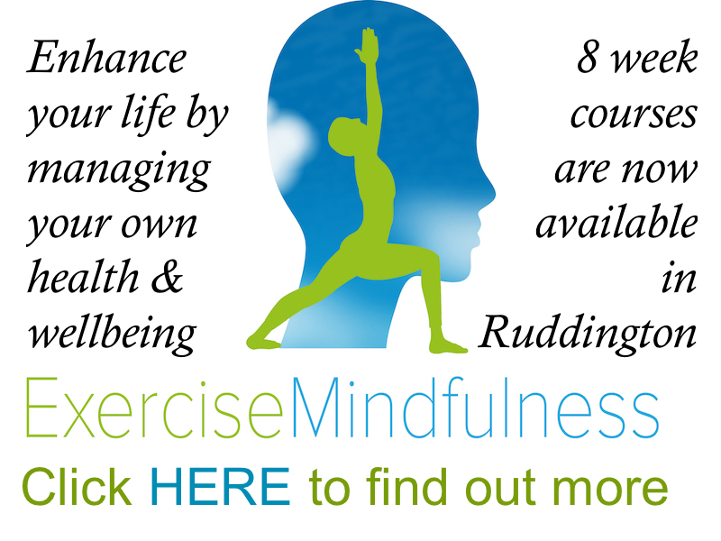 Exercise Mindfulness in Ruddington